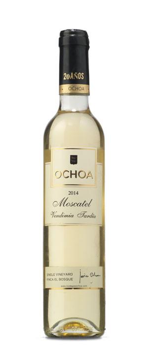 Ochoa Moscatel Vendimia Tardía Blanco dulce 2014