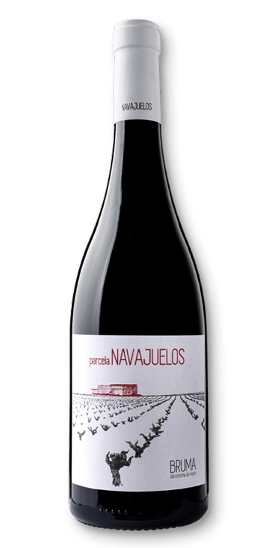 Botella del vino tinto Parcela Navajuelos 2018
