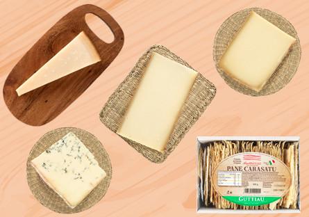 Lote de quesos europeos de grandes afinadores