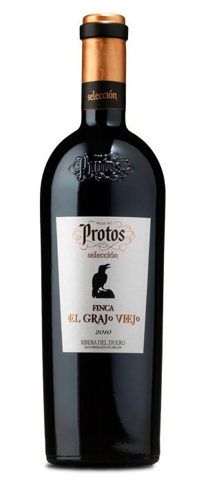 Protos Selección Finca El Grajo Viejo Tinto con crianza 2010