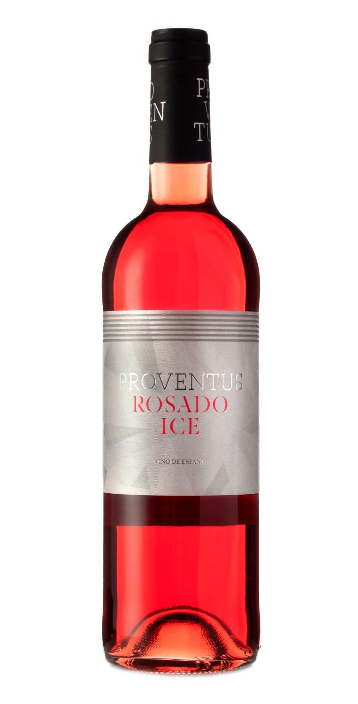 Botella del vino Proventus Rosado Ice 2020