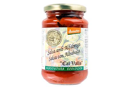 Salsa tomate albahaca