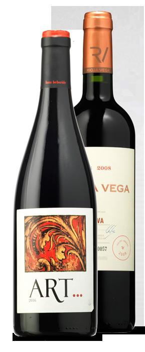 Art 2016 y Rioja Vega Viejas Añadas Gran Reserva 2008