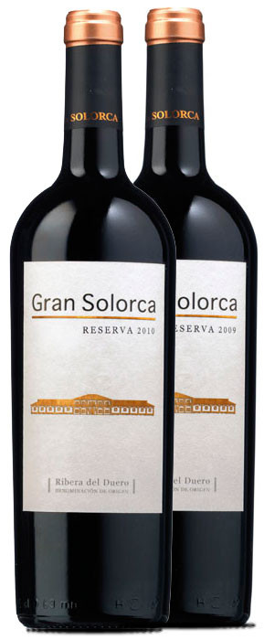 Gran Solorca Gran Reserva 2009 y Gran Solorca Reserva 2010