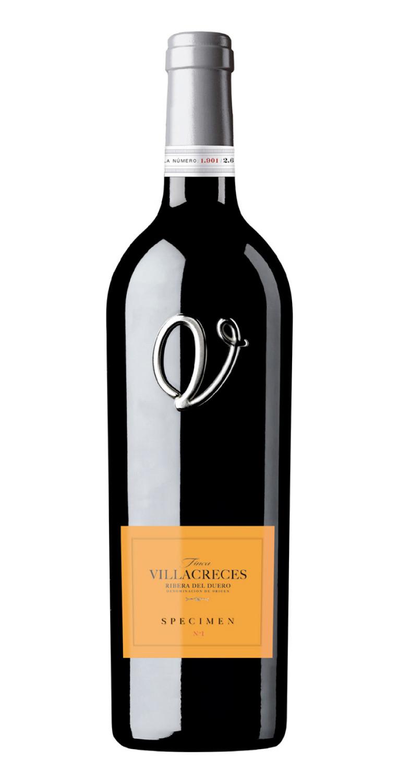 Botella del vino tinto Specimen Nº1