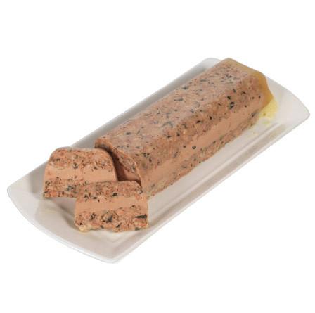 Tarrina de carne de oca con verduras y bloc de Foie Gras