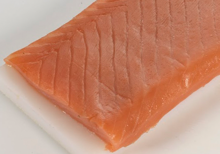 Ventresca de salmón ahumado (sin piel)