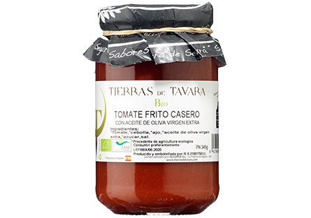 Tomate frito casero ECO Tierras de Tavara