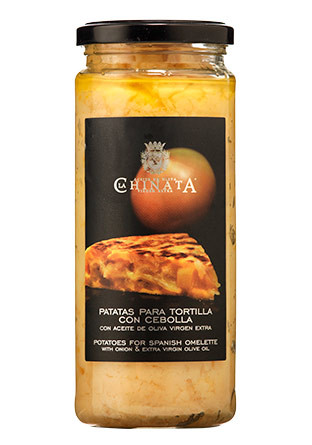 Tortilla de patatas con cebolla para freir La Chinata a la venta en vinoseleccion.com, el portal para sus compras de productos gastronómicos.