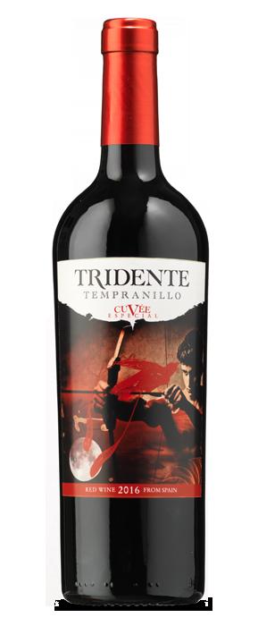 Tridente Tempranillo Cuvée Especial 2016