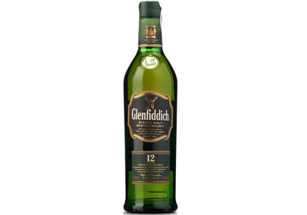 Whisky Single Malt Glenfiddich 12 Años