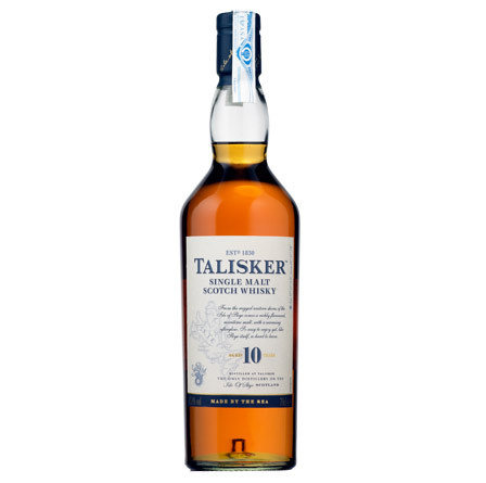Whisky Talisker Single Malt 10 años (Scotch Whisky)