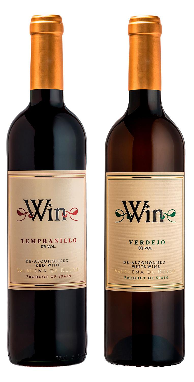Win Tempranillo y Win Verdejo