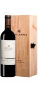 Botella del vino tinto Vizcarra Torralvo 2017