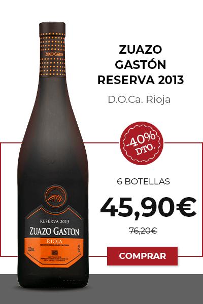 Zuazo Gastón Reserva 2013