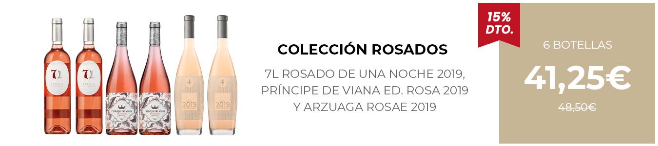 Colección Rosados