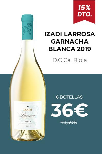 Izadi Larrosa Garnacha Blanca 2019