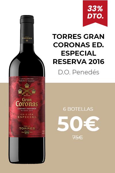 Gran Coronas Edición Especial Reserva 2016