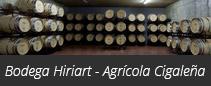 Bodega Hiriart - Agrícola Cigaleña