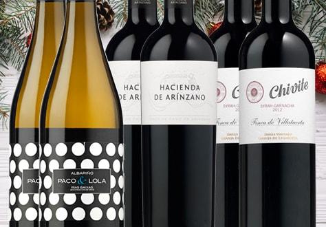 Colección de vinos Navidad 2017
