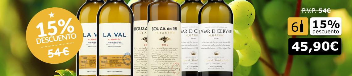 Colección de Vinos Rías Baixas