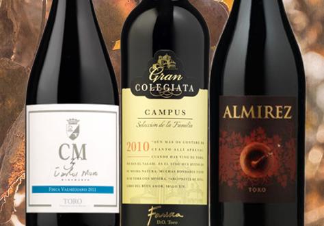 Coleccion de vinos de Toro