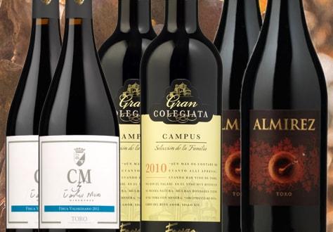 Colección de vinos de Toro