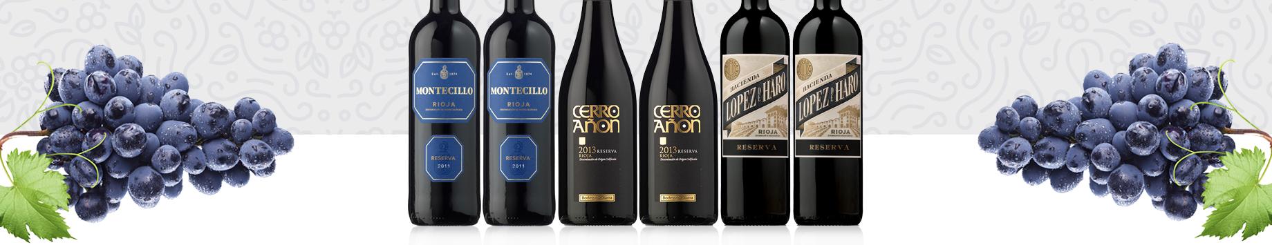 Colección Vinos Rioja