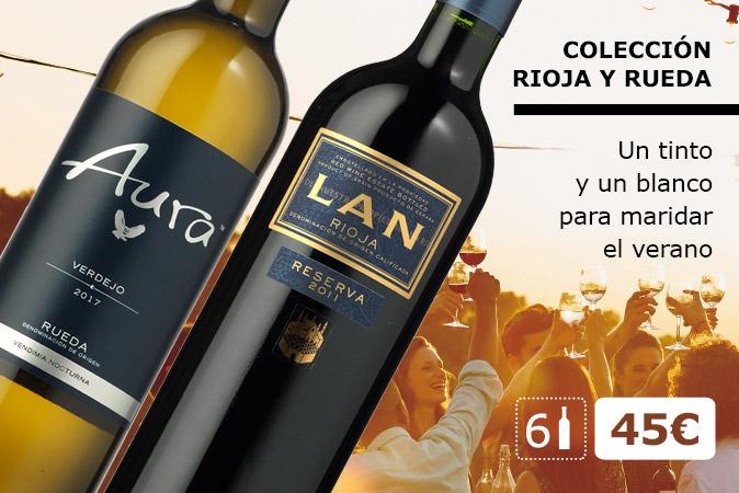 Rioja y Rueda: Un tinto y un blanco para maridar el verano