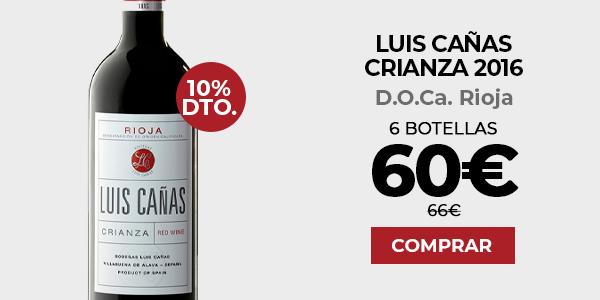 Luis Cañas Crianza 2016