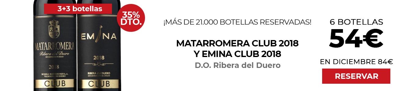 Matarromera y Emina Club 2018