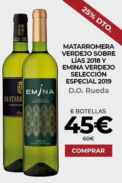 Matarromera Verdejo Sobre Lias 2018 y Emina Verdejo Ed. Especial 2019