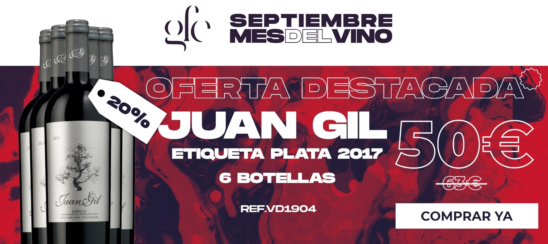Juan Gil Etiqueta Plata 2017