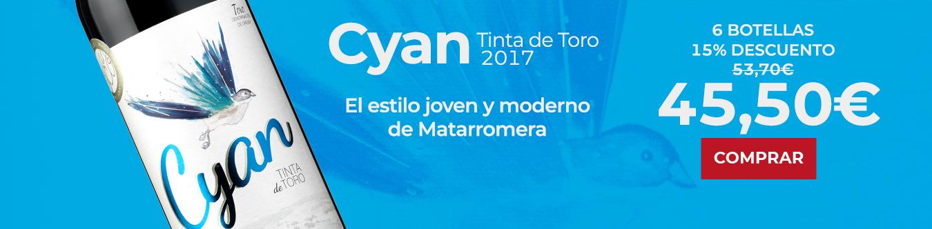 Cyan Tinta de Toro 2017
