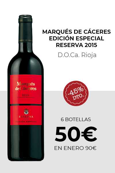 Marqués de Cáceres Edición Especial Reserva 2015