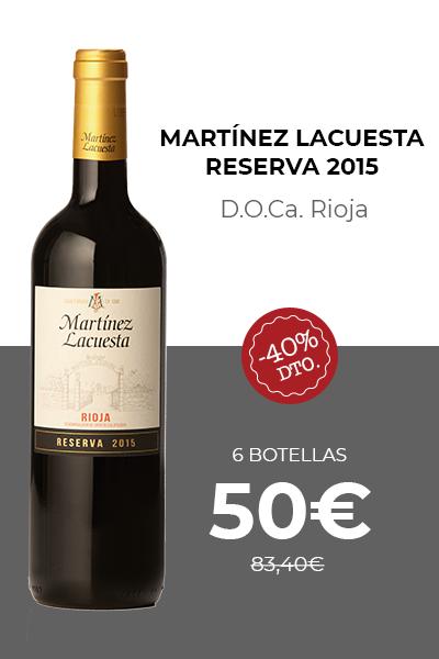 Martínez Lacuesta Reserva 2015