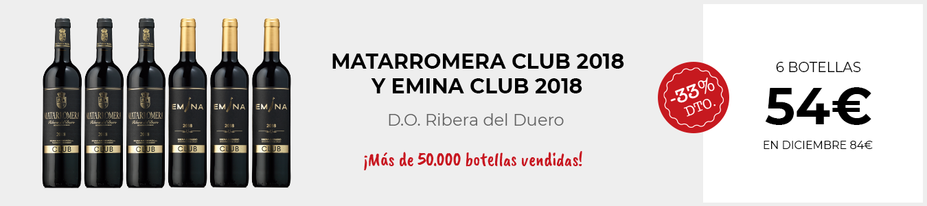 Matarromera Club 2018 y Emina Club 2018