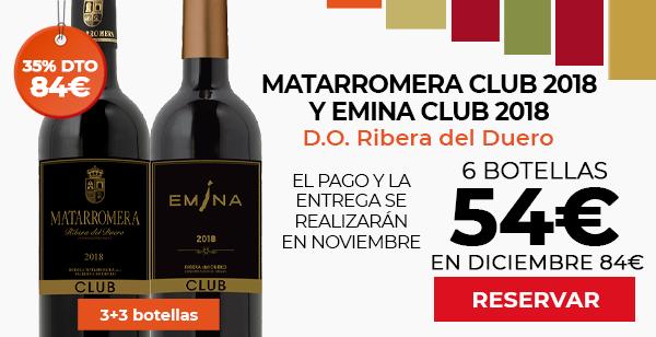Matarromera Club y Emina Club 2018