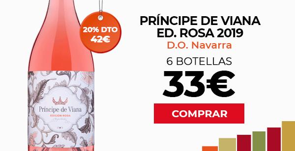 Príncipe de Viana Edición Rosa 2019