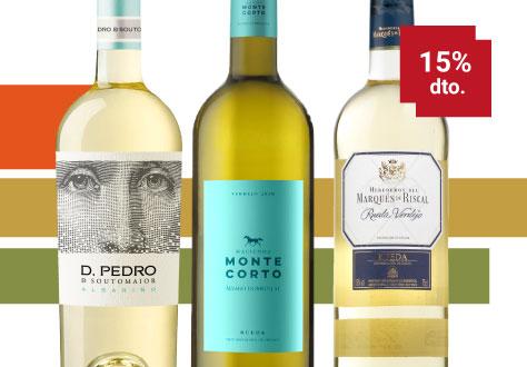 Colección Blancos Septiembre mes del vino