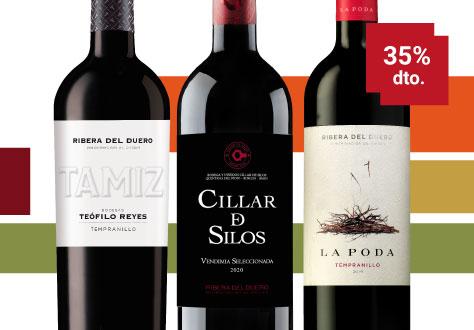 Colección Ribera Septiembre mes del vino