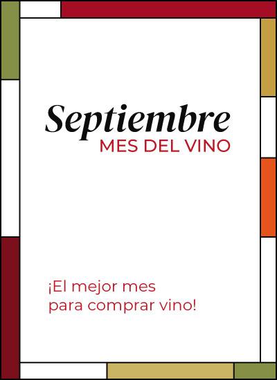 Septiembre Mes del Vino