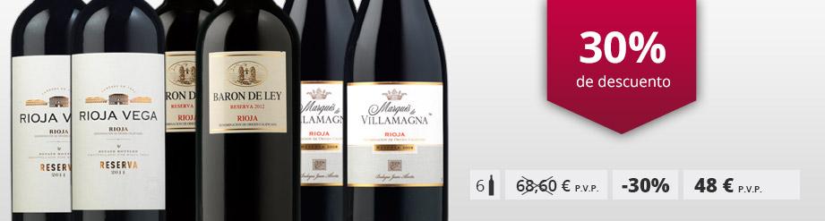 Vinos Rioja 6 increíbles tintos