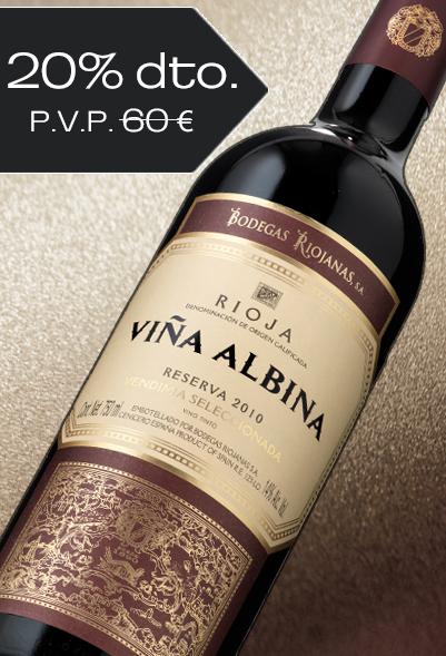 Viña Albina Vendimia Seleccionada Reserva 2010