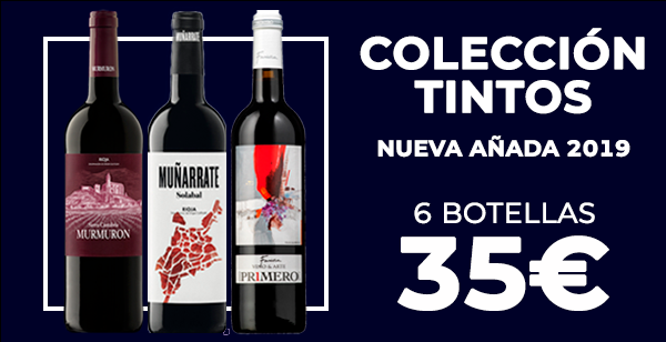 Colección Tintos nueva añada 2019