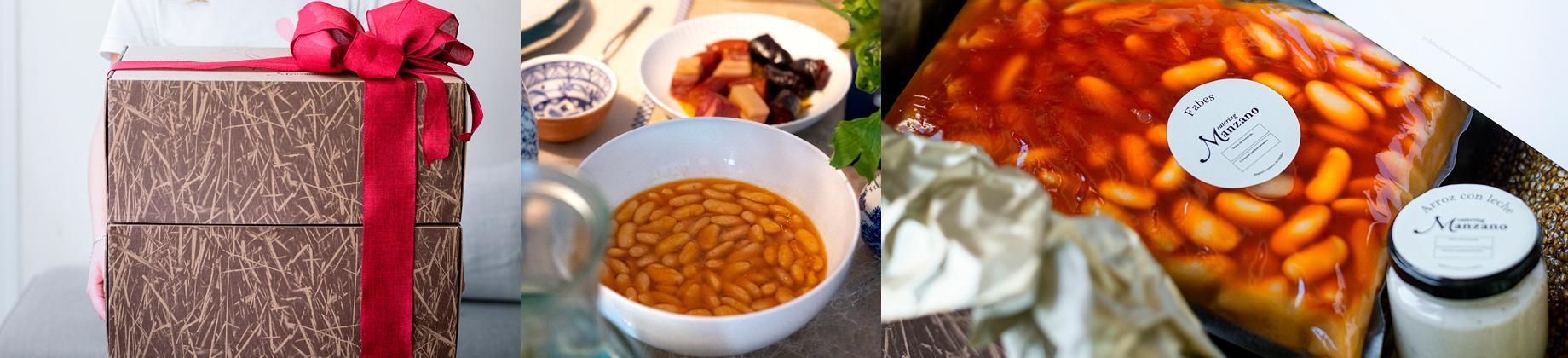 Catering Manzano Menú 2