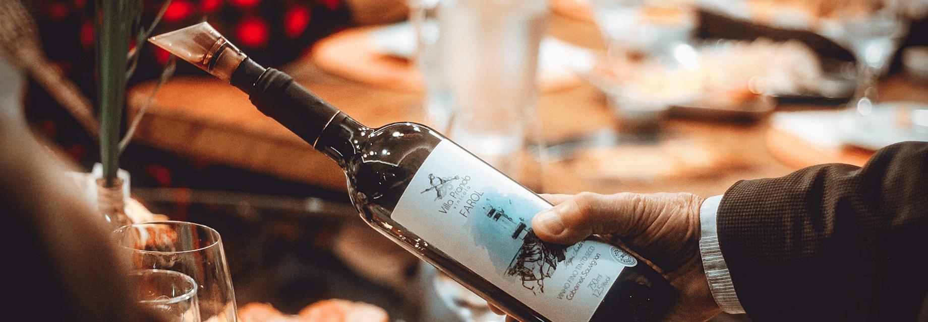 Cena con tu vino